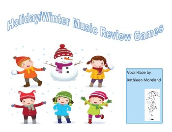 Holiday/Winter Music Review Games