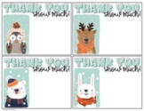 Holiday/Winter Thank You Cards