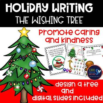 Holiday, Winter Writing Activity and Design a Holiday Tree Craft