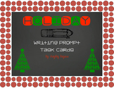 Holiday/Winter Writing Prompt Task Cards