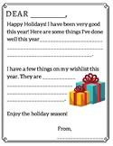 Holiday Wish List writing exercises
