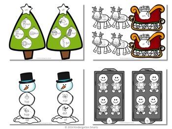 Christmas Word Families