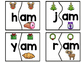 Holiday Word Family Puzzles-Christmas Theme
