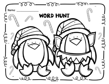 Holiday Word Hunt