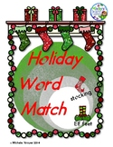 #newdeals Holiday Word Match