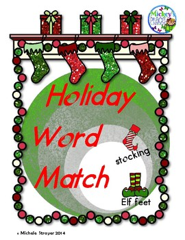 Holiday Word Match