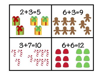 Holiday Word Problems Match (Addition and Subtraction)