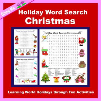 Holiday Word Search: Christmas