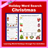 Holiday Word Search: Christmas