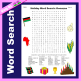 Holiday Word Search: Kwanzaa