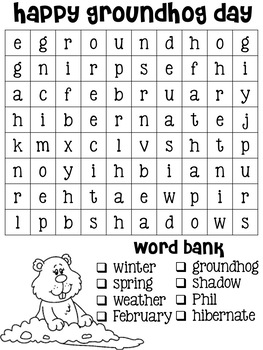 Holiday Word Search Pack
