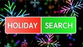Holiday Word Search PowerPoint