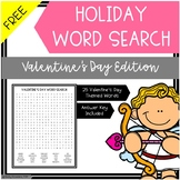 Free Word Search Valentine's Day Edition