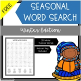 Free Word Search Winter Edition