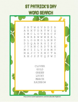 Multi Holiday Word Search BUNDLE!