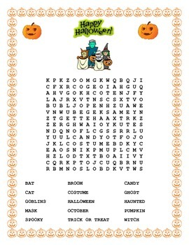 Holiday Word Searches. 7 Different Holidays