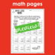 Holiday Print and Go Worksheets
