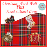 Holiday Word Wall PLUS
