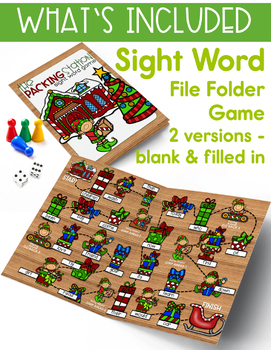 Christmas Holiday Word Work, Writing & Reading Activities - Merry & Bright