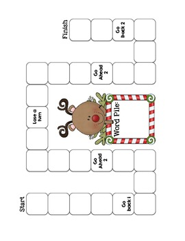 Holiday Word Work Pack