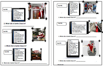 """Holiday """"Text Message"""" World Geography, Students Use Hints to Find Santa!"""