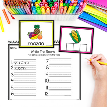 Holiday Write The Room plus Word Boxes
