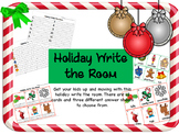 Holiday Write the Room