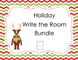 Holiday Write the Room Bundle (Christmas Themed)