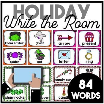 Holiday Write the Room | BUNDLE
