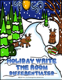Holiday Write the Room - Differentiated