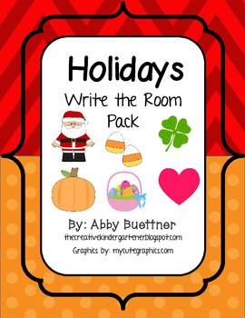 Holiday Write the Room Pack