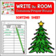 Holiday Write the Room {With Extension Activities} Common/