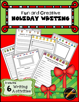 Holiday Writing 6 Pack