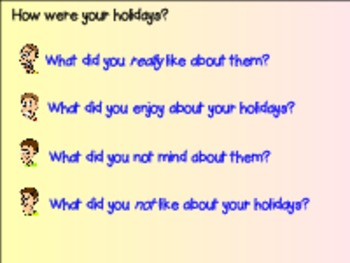 Holiday Writing Accordion Book