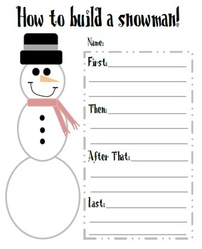 Holiday Writing Activities! {Christmas Time!}
