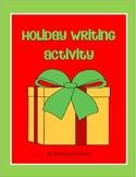 Holiday Writing Activity