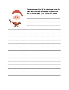 Holiday Writing Activity Book
