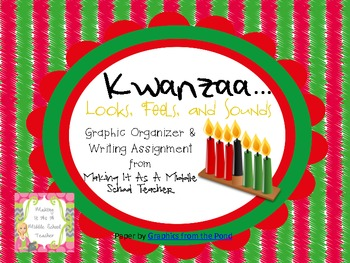 Holiday Writing Activity ~ Kwanzaa...Looks, Feels, & Sounds....