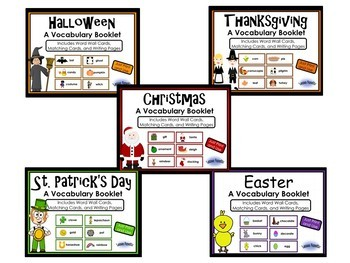 Holiday Writing Booklets Bundle