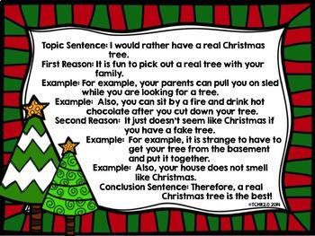 Holiday Writing Bundle Christmas Hanukkah Chanukah