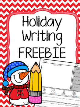 Holiday Writing FREEBIE