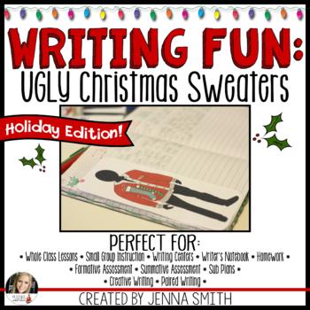 Christmas Writing Fun: Ugly Christmas Sweaters