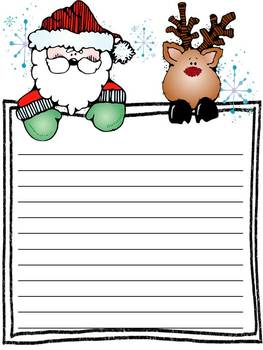 Holiday Writing ~ Letter templates, organizers, and stationary!