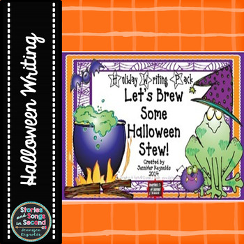 Brew Some Halloween Stew-Holiday Writing Pack and Center Activities