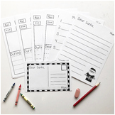 Holiday Writing Pack With Success Criteria