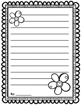 Holiday Writing Paper - Halloween, Christmas, Valentine's Day {FREE}