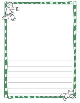 Holiday Writing Paper Packet