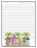 Holiday Writing Paper Printables for the Entire Year