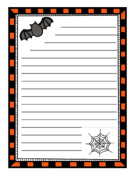 Holiday Writing Paper Sample Set FREE
