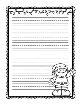 Holiday Writing Papers {FREEBIE}